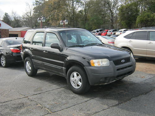 2003 FORD ESCAPE 4dr Auto Black 5500 706-771-9510