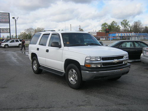 2006 CHEVY TAHOE 4dr Auto white 10995 888-640-5901