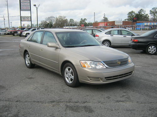 2000 TOYOTA AVALON XL 4dr Auto Leather Gold 5995 888-640-5901