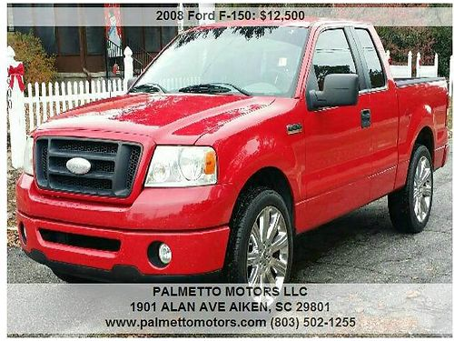 2008 FORD F150 60th Anniversary Edition 4Dr Supercab Palmetto Motors 803-502-1255