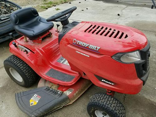 LAWN MOWER by Troy Built 42in 7sp and pulling trailer included package deal 1300 neg for both