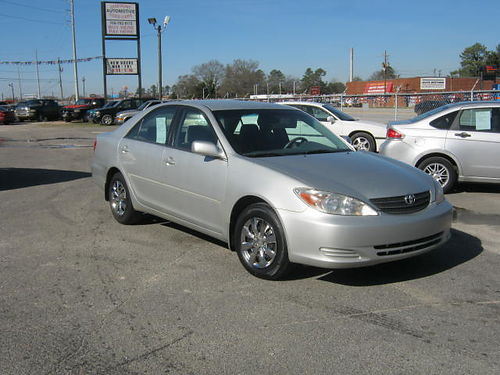 2003 TOYOTA CAMRY LE 4Dr Auto Silver 8995 888-640-5901
