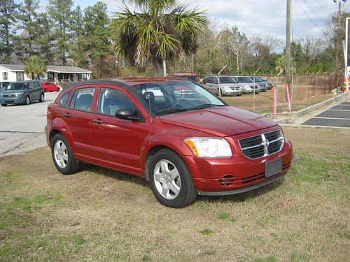 2008 DODGE CALIBER 4Dr Auto Burgundy 5995 888-667-8504