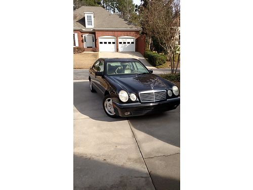 1999 MERCEDES E430 1 owner 103k miles well maintained no smoking or pets 5300 for more photos s