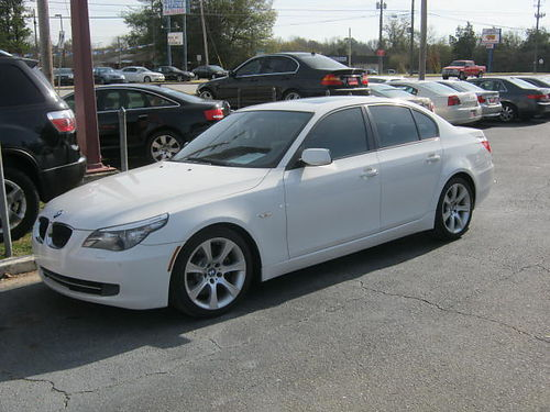 2008 BMW 535 4Dr Auto White 9000 706-771-9510
