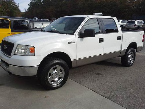 2005 FORD F150 Supercrew XLT with 4WD only 95K miles 12995 Brian Lovett Auto