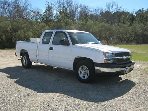 2004 CHEVY SILVERADO 1500 LS 4dr Ext Cab 48 v8 134k Miles Auto AC Cruise Shortbed Very Wel