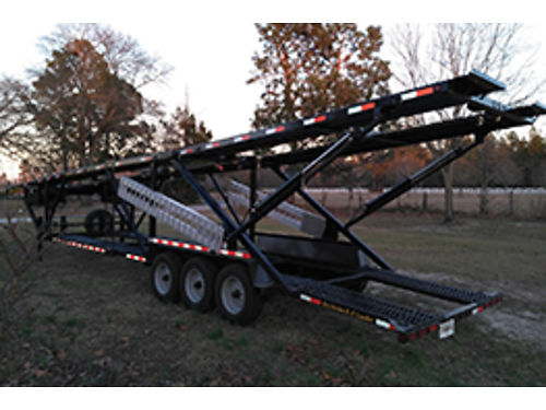 TRAILER Kaufman double deck mini 5 brand new only used 4 times 23k