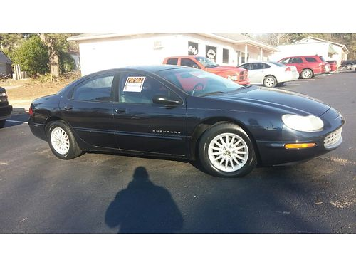 2000 CHRYSLER CONCORDE one owner automatic blue in color moon roof76k miles very clean inside a