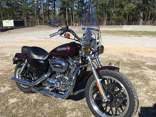2007 HARLEY DAVIDSON SPORTSTER 1200cc low 13k miles new tires battery just serviced with detach