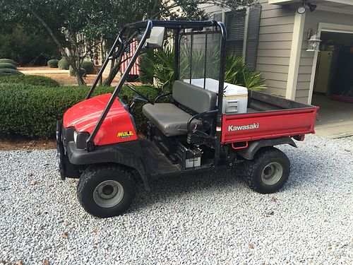 2002 KAWASAKI MULE model 3010 4x4 908hrs asking 4500