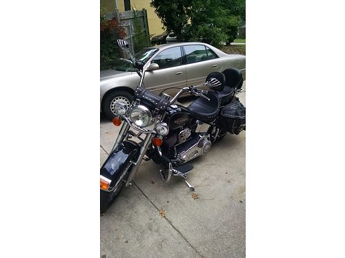 2006 HARLEY SOFT TAIL HERITAGE CLASSIC xc 18500 miles over 2500 in accessiories lots of chrome