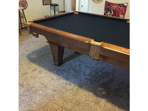 POOL TABLE THE Phoenix by Presidential Billiards 8 foot table includes camouflage pool balls 20