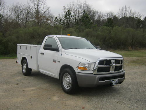 2011 DODGE RAM 2500 SERVICE TRUCK Reg Cab V8 119k Miles Reading Body Back-up Camera Built to W