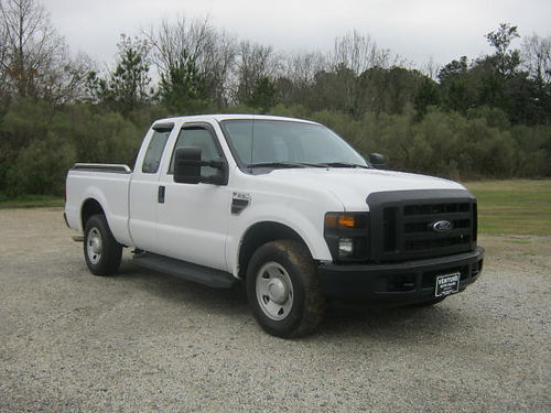2009 FORD F250 XL 4dr Ext Cab 93k Miles v8 Shortbed Bedliner Tow Pkg One Owner Ready to Wor