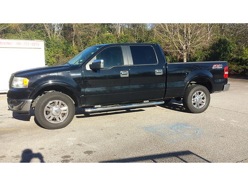 2008 FORD F150 Lariat 4x4 4dr crew cab loaded emmaculate inside and out high milage 15900 ob