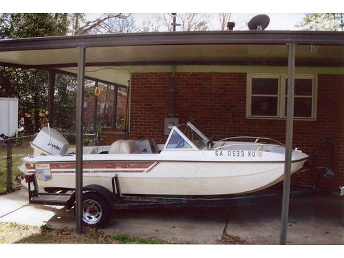 1976 MARQUIS 15ft with an 85hp Johnson Javeline 800obo