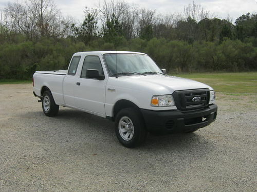 2011 FORD RANGER 2Dr Ext Cab 4Cyl 97k Miles Auto AC Gem Top Tonneau Cover Fleet Preowned Ext
