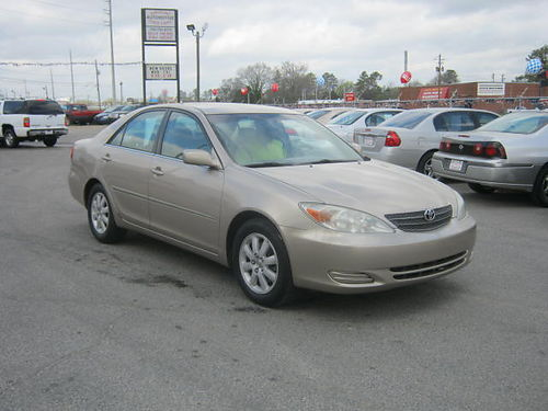 2002 TOYOTA CAMRY LE 4Dr Auto Leather Gold 7995 888-640-5901