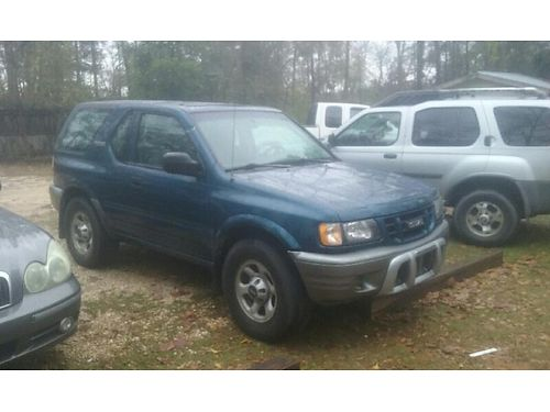 2001 ISUZU RODEO SPORT 5speed trans 160k miles cold Ac radiocd vgc runs excellent 2600 for ph