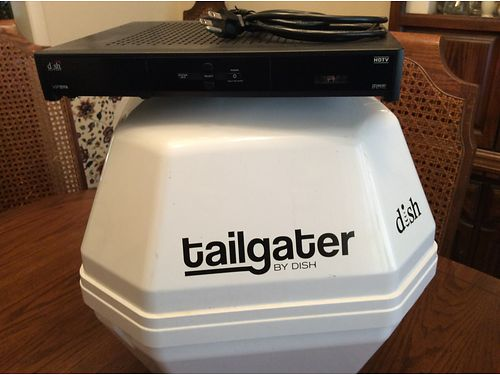 SATELLITE RECEIVER brand name Tailgater by Dish like new xc well maintained asking 200