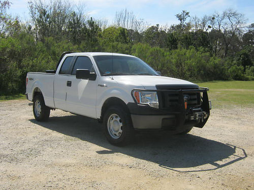 2010 FORD F150 XL 4x4 Ext Cab Shortbed V8 Toolbox Warn Winch Brush Guard Hitch Ready for Fun