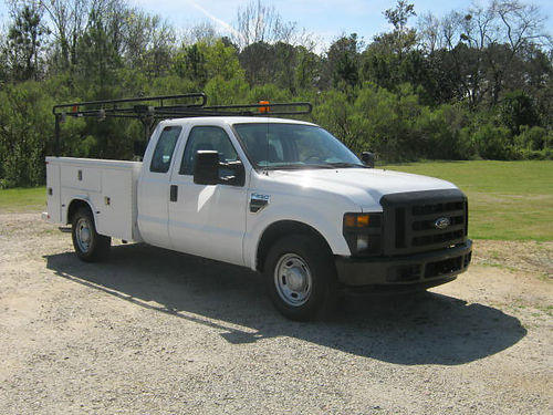 2010 FORD F250 XL 4dr Ext Service Truck Knapheide with Fliptops Pipe Rack Well-Maintained One