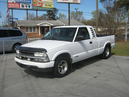 2003 CHEVY S-10 LS Ext Cab White 5790 888-667-8504