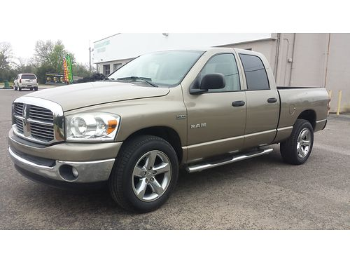2008 DODGE RAM 1500 57L Hemi ONLY 94K MILES pewter exterior clean tan interior 15900 for more