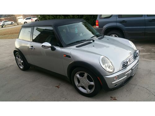 2003 MINI COOPER 5spd manual trans sunroof new clutch runs good 3800 for color photos search ad 2