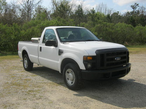 2008 FORD F250 XL 2dr Reg Cab Longbed v8 122k Miles Toolbox Extremely Clean One Owner Ready