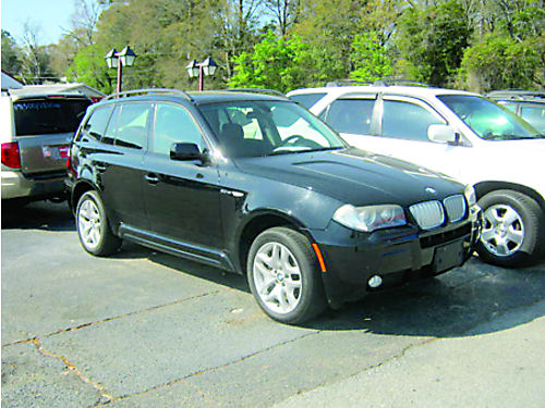 2007 BMW X3 4dr Auto Sunroof Leaher 9500 706-771-9510