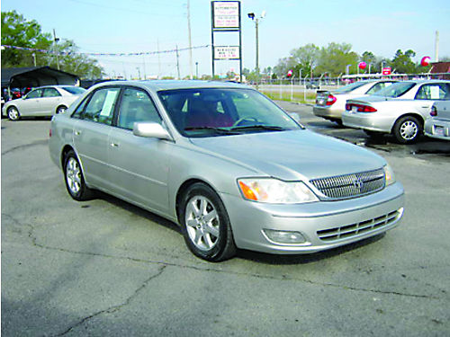 2001 TOYOTA AVALON 4dr Auto Leather Sunroof Silver 7995 Call 888-640-5901