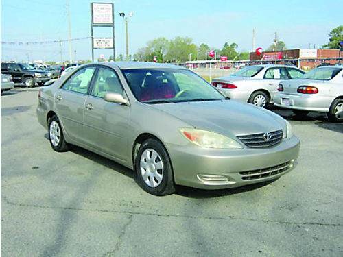 2004 TOYOTA CAMRY LE 4dr Auto Gold 6995 Call 888-640-5901