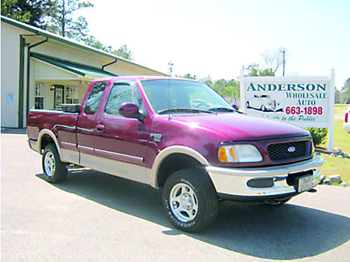 1997 FORD F150 Ext Cab 108K Miles Burgundy 6500 803-663-1898