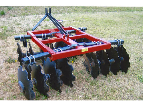 5FT Disk Harrow never used make good offer