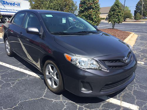 2012 TOYOTA COROLLA 4Dr Sedan Low Miles 803-270-6621
