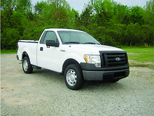 2010 FORD F150 XL 2dr Reg Cab Short Bed V8 84K Miles Auto AC Nice Truck Bed Cover Fleet Pre