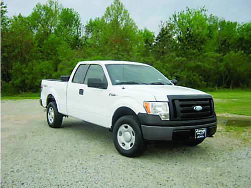 2009 FORD F150 XL 4x4 4dr Ext Cab 54 V8 110K Miles Auto AC Tool Box Hitch One Owner Well