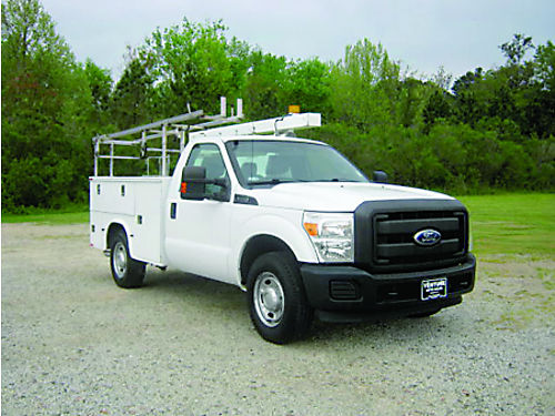 2012 FORD F350 XL Service Truck All Power Knapheide Body Top Boxes Ladder Rack Hitch Built to