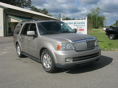 2005 LINCOLN NAVIGATOR 4dr Auto New Tires Sunroof 162k Miles 7350 803-663-1898