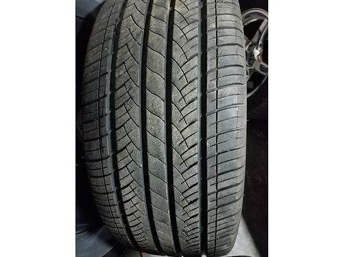TIRES RIMS xc will fit Gm cars 24540zr18 400