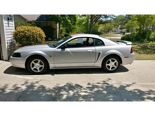 2004 FORD MUSTANG 40th Anniversary V6 Premium Silver Charcoal Leather 5Spd XC 3900 803-646-0864