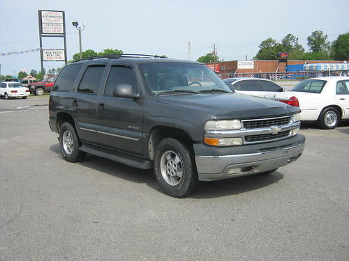 2002 CHEVROLET TAHOE LT 4dr Auto Leather Call 888-640-5901