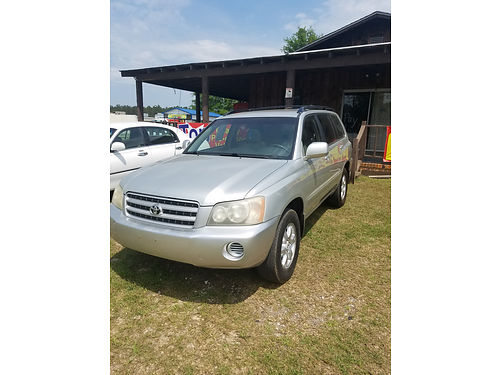 2003 TOYOTA HIGHLANDER Only 151K miles Top Quality Auto Sales 706 437-1411