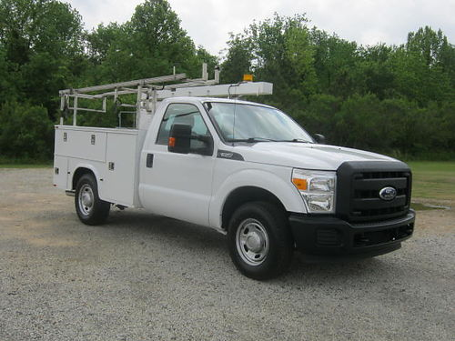 2012 FORD F-350 XL Knapheide Service Body All Power Top Boxes Bed Boxes Ladder Rack This Truck