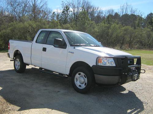 2008 FORD F-150 XL 4x4 Ext Cab Short Bed Warn Winch Brush Guard Fleet PreOwned Well Maintained