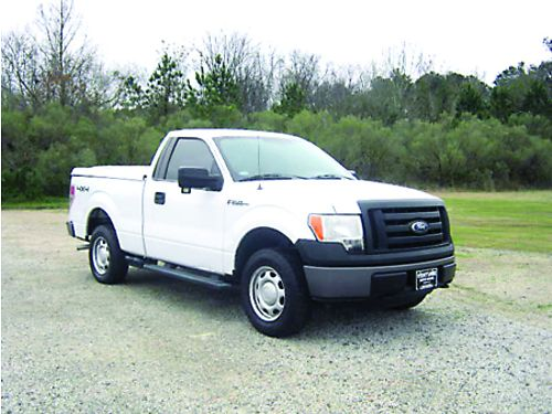 2010 FORD F-150 XL 4x4 2Dr Reg Cab Short Bed 70k Miles V8 Nice ARE Top Super Clean Only 14