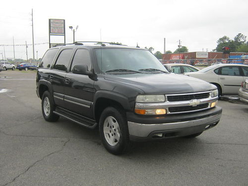 2004 CHEVROLET TAHOE 4dr Auto Black 3rd Row 9995 Call 888-640-5901