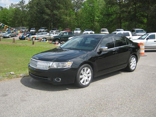 2007 LINCOLN MKZ 4dr Auto Black 120k Miles Leather 7000 803-663-1898